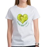 Daffodils in Heart, Mother's Day Women's T-Shirt