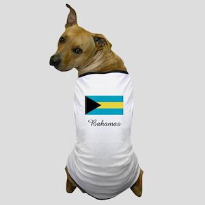 Bahamas Flag Dog T-Shirt