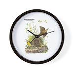 Audubon Eastern Meadowlark Birds Wall Clock