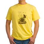 Audubon Eastern Meadowlark Birds (Front) Yellow T-