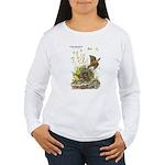 Audubon Eastern Meadowlark Birds Women's Long Slee