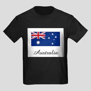 Aruba Flag Kids Dark T-Shirt