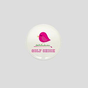 Golf Chick - Mini Button