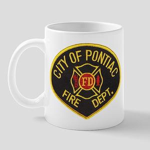 Pontiac Fire Department Mug