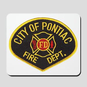 Pontiac Fire Department Mousepad