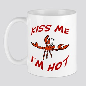 Kiss Me Crawfish Mug