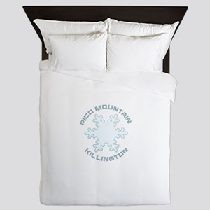 Pico Mountain - Killington - Vermont Queen Duvet