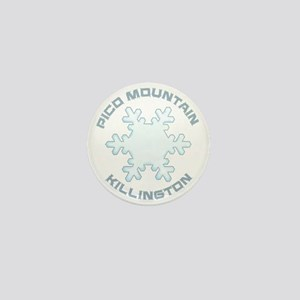 Pico Mountain - Killington - Vermont Mini Button