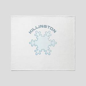 Killington Ski Resort - Killington Throw Blanket