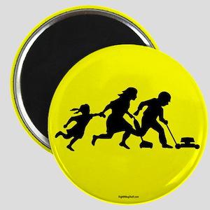 "Illegals Running 2.25"" Magnet (10 pack)"