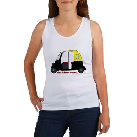 This Is How We Roll Rickshaw Women's Tank Top