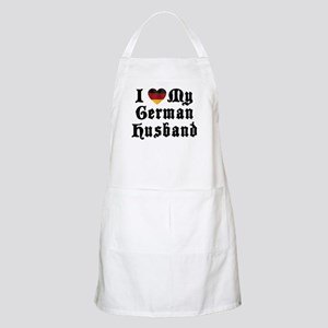 I Love My German Husband BBQ Apron