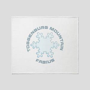 Toggenburg Mountain - Fabius - New Throw Blanket