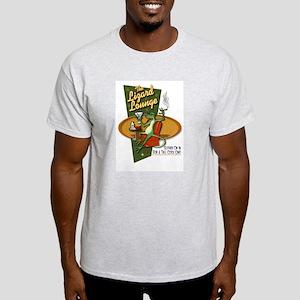 LIZARD LOUNGE Ash Grey T-Shirt