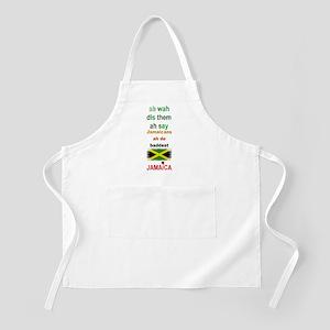 Jamaicans ah de baddest - BBQ Apron