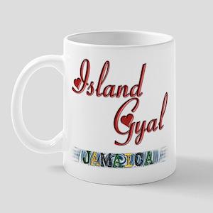 Island Gyal - Jamaica - Mug