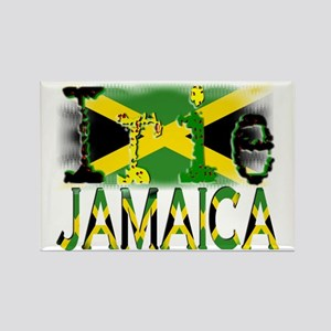 IRIE - Jamaica - Rectangle Magnet