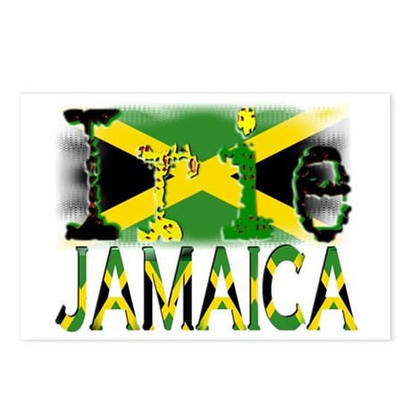 IRIE - Jamaica - Postcards (Package of 8)