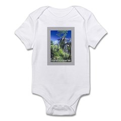 Green Bicycle Infant Bodysuit