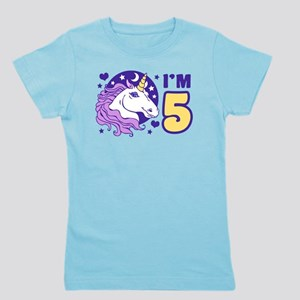 5 Year Old Unicorn T Shirt