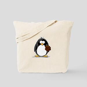 Chocolate Brownie Penguin Tote Bag