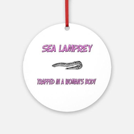 Sea Lamprey Trapped In A Woman's Body Ornament (Ro