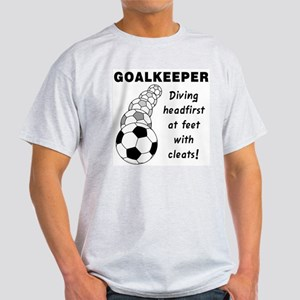 Soccer Goalkeeper Women's Light T-Shirt