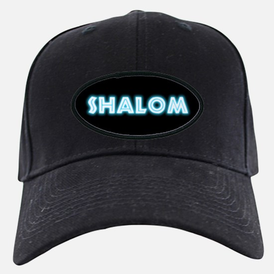 Neon Shalom Baseball Hat