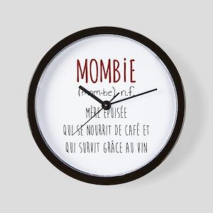 Mombie Wall Clock