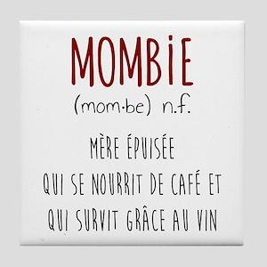 Mombie Tile Coaster