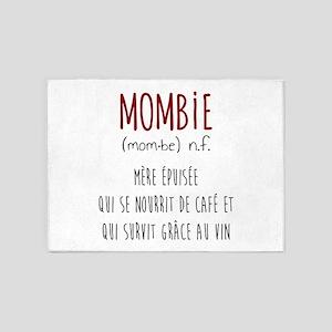 Mombie 5'x7'area Rug