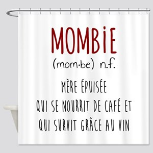 Mombie Shower Curtain