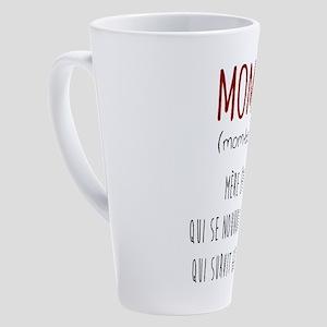 Mombie 17 Oz Latte Mug