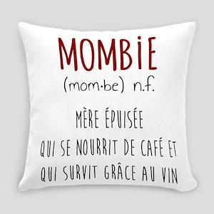 Mombie Everyday Pillow