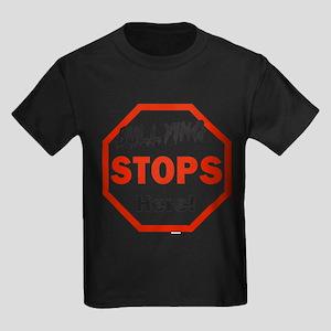 Bullying Stops Here T Shirt T-Shirt