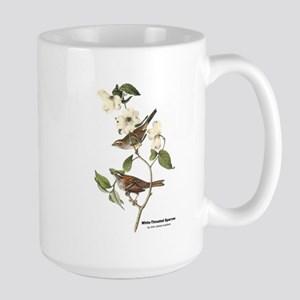 Audubon White-Throated Sparrow Large Mug