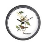 Audubon White-Throated Sparrow Wall Clock