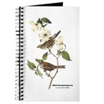 Audubon White-Throated Sparrow Journal