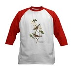 Audubon White-Throated Sparrow (Front) Kids Baseba