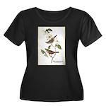 Audubon White-Throated Sparrow (Front) Women's Plu