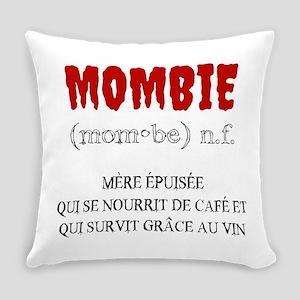 Mombie Zombie Everyday Pillow