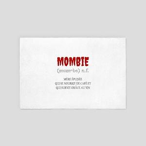 Mombie Zombie 4' x 6' Rug