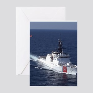 coast guard Greeting Card