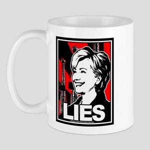 Clinton: LIES Mug