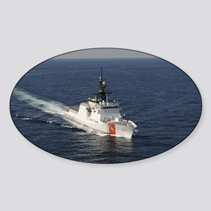 coast guard Oval Sticker