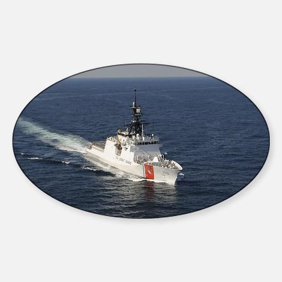 coast guard Oval Decal