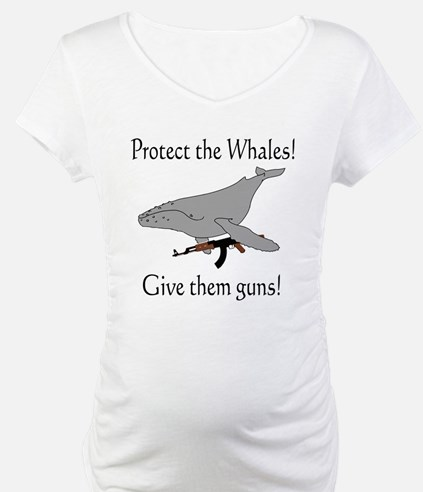 protect the whales! give them Shirt