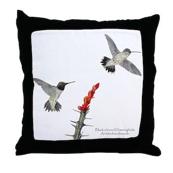 Hummingbird Throw Pillow!