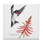 Hummingbird Tile Coaster!