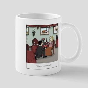 Proposal Implication Cartoon Mugs